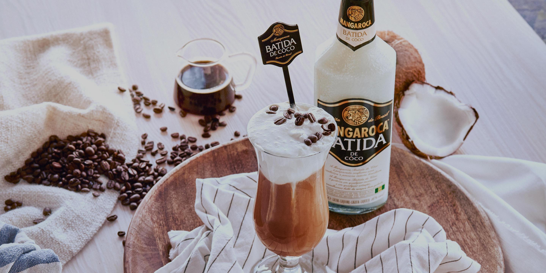 Batida com cafe