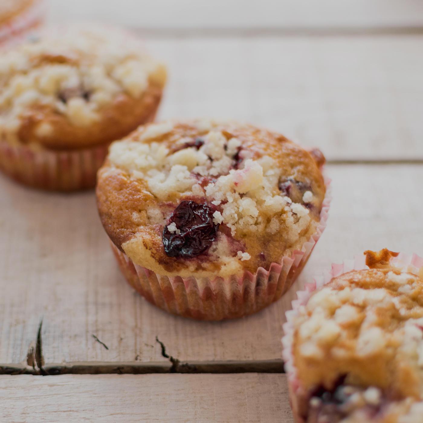 Batida Kirsch Muffins