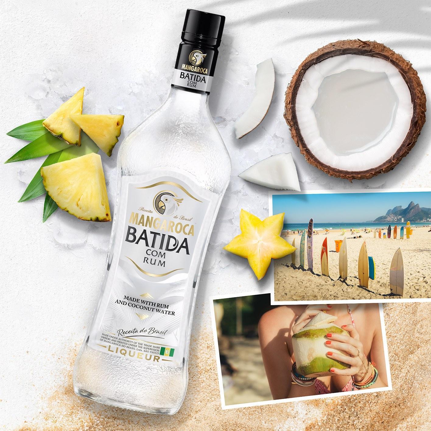 Batida com Rum